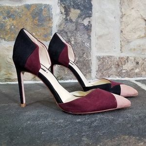 Zara 39 Basic Cut Out Heels Pumps